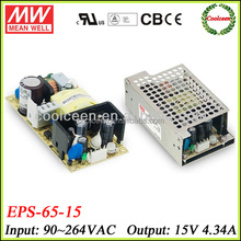 Meanwell EPS-65-15 switch mode power supply 15v