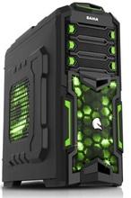 SAMA computer case with card reader desktop computer case gaming computer cse