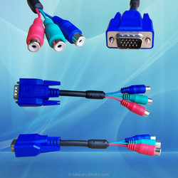 d-sub 15 pin male to female vga cable