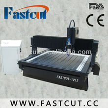 FASTCUT 1212 stone cnc engraving carving machine with full automatic oiling lubrication
