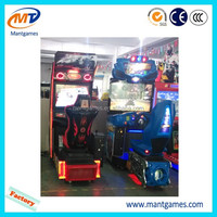 Coin operated arcade racing racing game machine named Luxury Around The World for sale