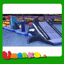 UMENKA hot sale inflatable obstacle water game for adults