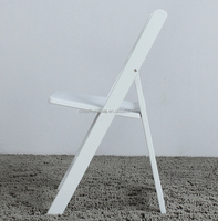 wholesale white resin folding chair folding table