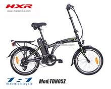 "TDN05Z Electric Bicycle 20"" Folding Ebike motor"