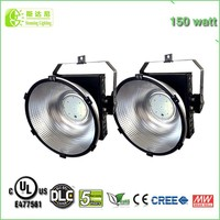 CE DLC Certified UL Listed IP65 high bay led lights 150W for HID HPS Replacement
