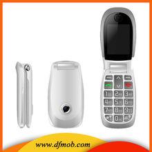 Dual SIM Card 2.2INCH QVGA GSM GPRS/WAP Quad Band MTK6260 SOS Big Keyboard Big Font Unlocked Old People Cellphone T03