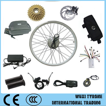 Factory hot sale 24V 250W ebike motor electric bike conversion kit with LED display