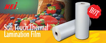 Soft Touch Film, best velvet effect,transparent,Polypropylene film, plastic film