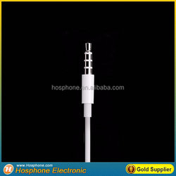 High Qulity Original super bass Earphones with MIC and remote volume for apple ipad iphone 5c 5s 6s puls mobile cell phone