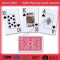 57x87mm China OEM made poker playing cards custom design printing cards