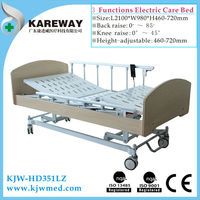 Long term electric home care bed