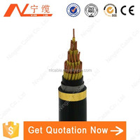 cca conductor pvc sheath electric wire and control cable