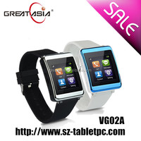 Hot bluetooth and price of watch phone shenzhen made in china