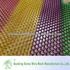 Decorative metal chain link room divider mesh curtain