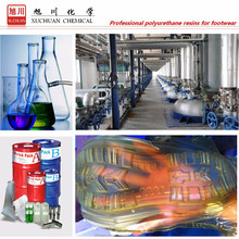 pu resins forl shoe sole low density and high flexing resistance