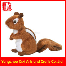 2015 China factory toys stuffed animals plush squirrel