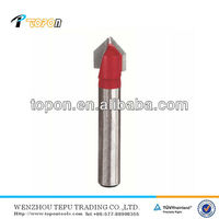 woodworking cutters V groove cutter cnc router bits for wood