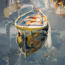 ship and sea oil painting
