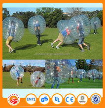 Children Day Promotion bubble football & soccer bubble & bumper ball with free blower