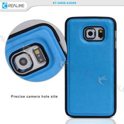 Pu leather cover case S6 edge, for Samsung S6 edge case, case s6 ege