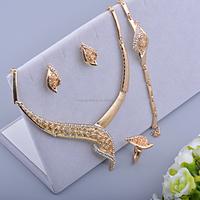 Wedding dress Fashion Jewelry wedding jewelry designs dubai gift fashion jewellery 18 carat dubai gold jewelry sets