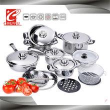 Kitchen utensil magnetic cookware set CYCS521B-1B