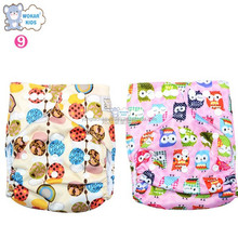 Wholesale adjusted size cloth sleepy baby diaper