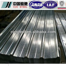 galvanized corrugated sheet coil price for roofing sheet