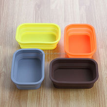 FDA&SGS Approved Silicone Foldable Food Storage Box