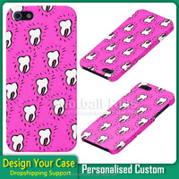 Designer protect teeth skin shockproof Custom cell Phone Case Cover For Iphone 6 6s plus