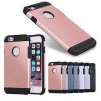 for iphone 6/6s armor back rose gold color shookproof case