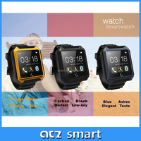 ATZ mobile accessories smart wrist watch android phone IP68 waterproof bluetooth wireless speaker