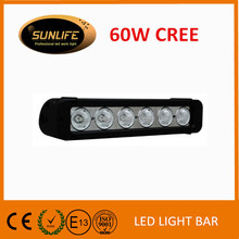 Wholesale led light bar 11inch 60W car LED light bar,offroad car accessories,4x4 auto lighting,truck,4WD,JEEP,IP68