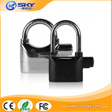 High quality Motorcycle alarm lock / Padlock alarm / Waterproof siren alarm lock