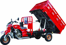 2015 new design Hydraulic dumping tricycle