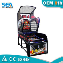 HM-L02-C 2015 Haimao Indoor arcade hoops cabinet basketball game/extreme hoops basketball machine