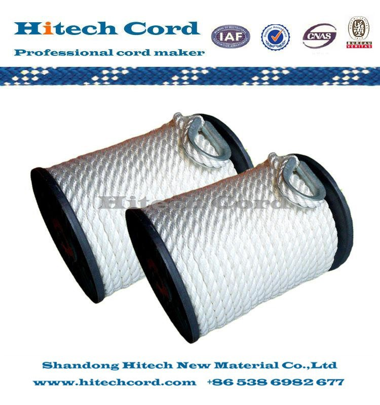 3Nylon 3 Strands Twisted Anchor Line