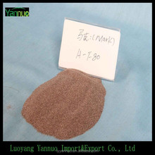 high aluminum emery color brown