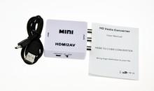 HDMI cable Converter to RCA Cable HDMI to AV/RCA/CVBS Converter 1080P