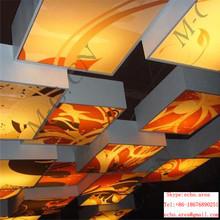 art printed film for ceiling design