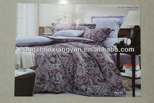 Hot sale pure cotton bedding set 3d for comfortable use made in China