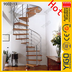 rustic spiral staircase/spiral stair for house