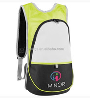 latest leisure polyester blue travel backpack / fashion backpack for girls / cheap promotional bag