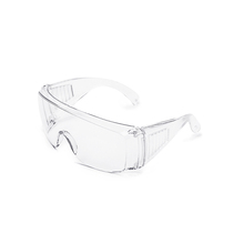 Eye protective CE EN166 safety glasses ANSI Z87.1 Industrial Chemical safety goggles