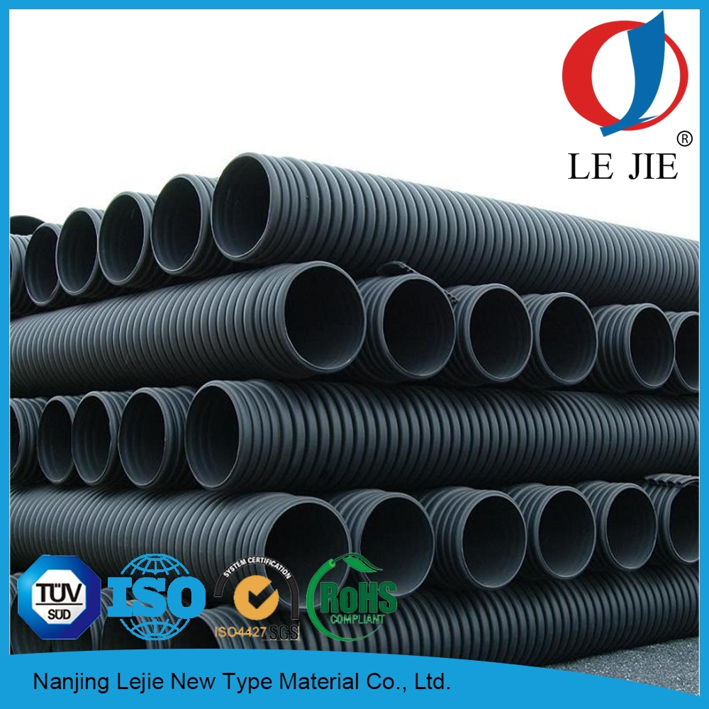 Inch flexible corrugated drain pipe for hdpe drainage