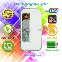 Silfa new invented products rechargeable USB turbo flame lighter with 4GB capacity