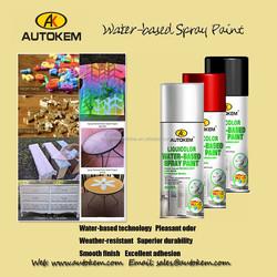 Carlas 400ml odorless waterproof acrylic spray paint , mirror chrome spray paint for cars