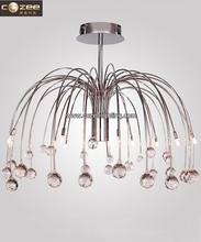 Modern Designer Crystal Chandelier Luxury Vintage Pendant Light Ceiling Hanging Lamp Suspended Lighting CZ9059/10