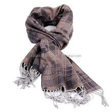 2015 Fashion Lady's Decorative Silk Jacquard Throw