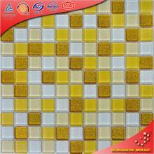 H2031 China Foshan Swimming Pool Bathroom Water Proof tropical green wall tile Glass Mosaic Tiles